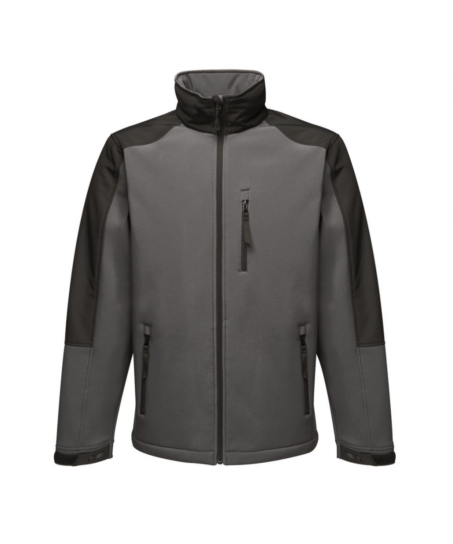 Image for Regatta Mens Hydroforce 3-layer Membrane Waterproof Breathable Softshell Jackets