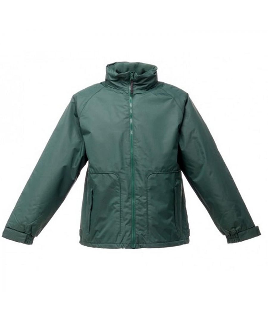 Image for Regatta Great Outdoors Mens Waterproof Zip Up Jacket (Bottle Green)