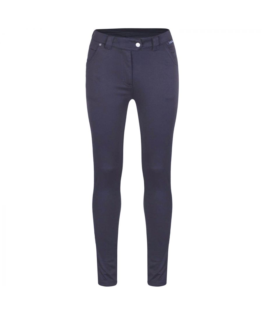 Image for Regatta Great Outdoors Womens/Ladies Seren Tregging Classic Plain Leggings