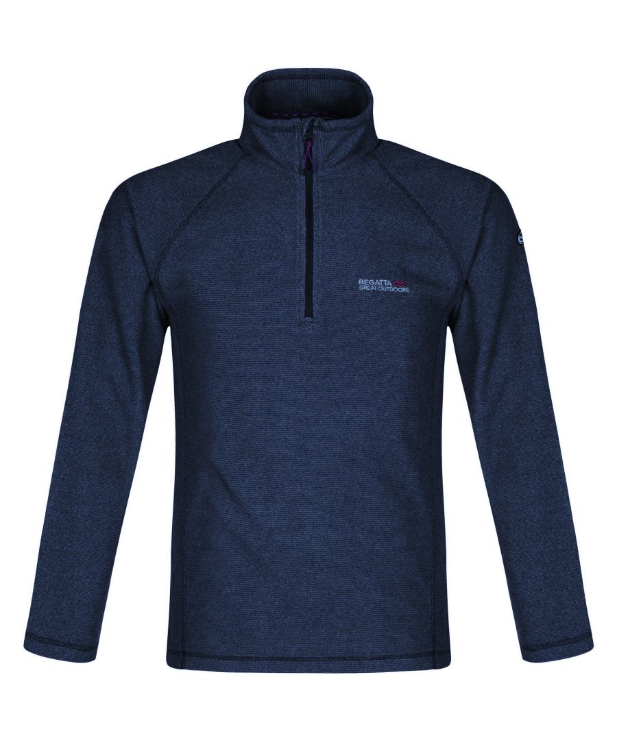 Image for Regatta Great Outdoors Mens Montes Half Zip Fleece Jacket