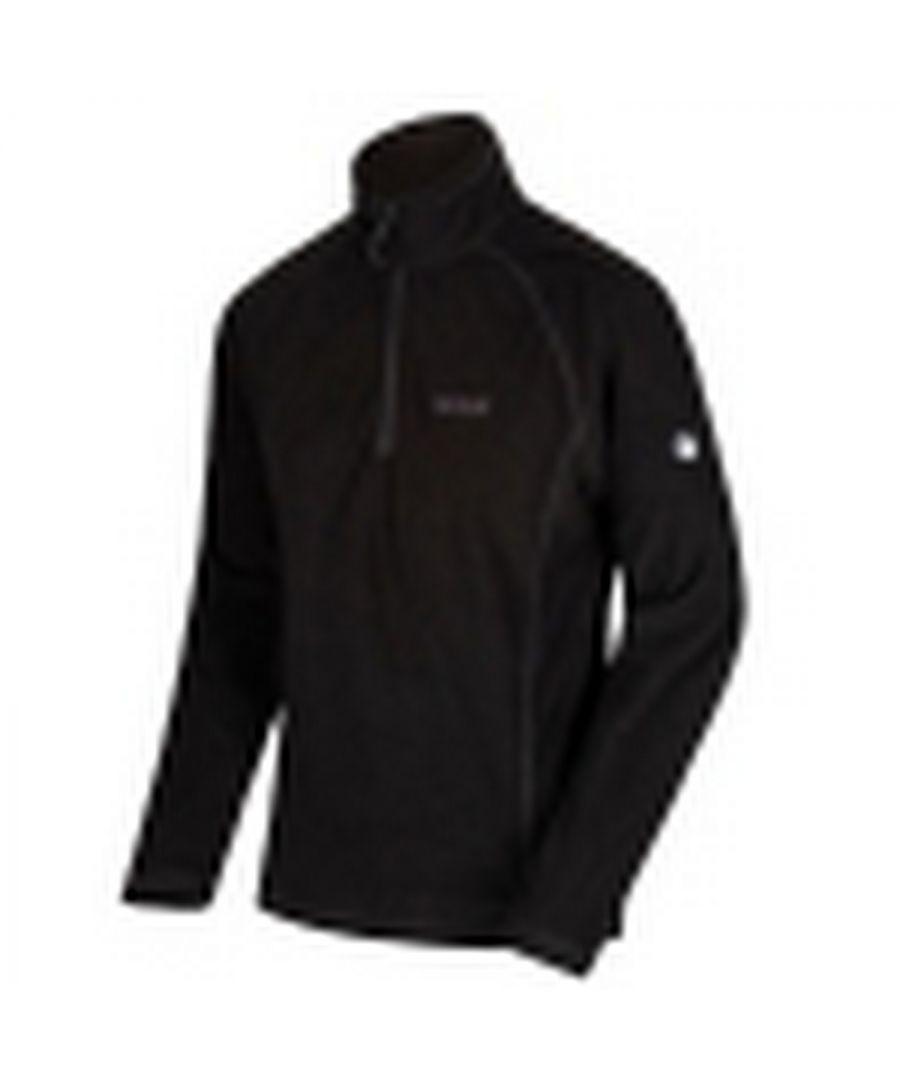 Image for Regatta Great Outdoors Mens Montes Half Zip Fleece Jacket
