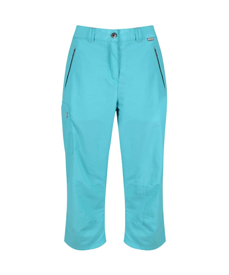Image for Regatta Great Outdoors Womens/Ladies Chaska 3/4 Capri Shorts
