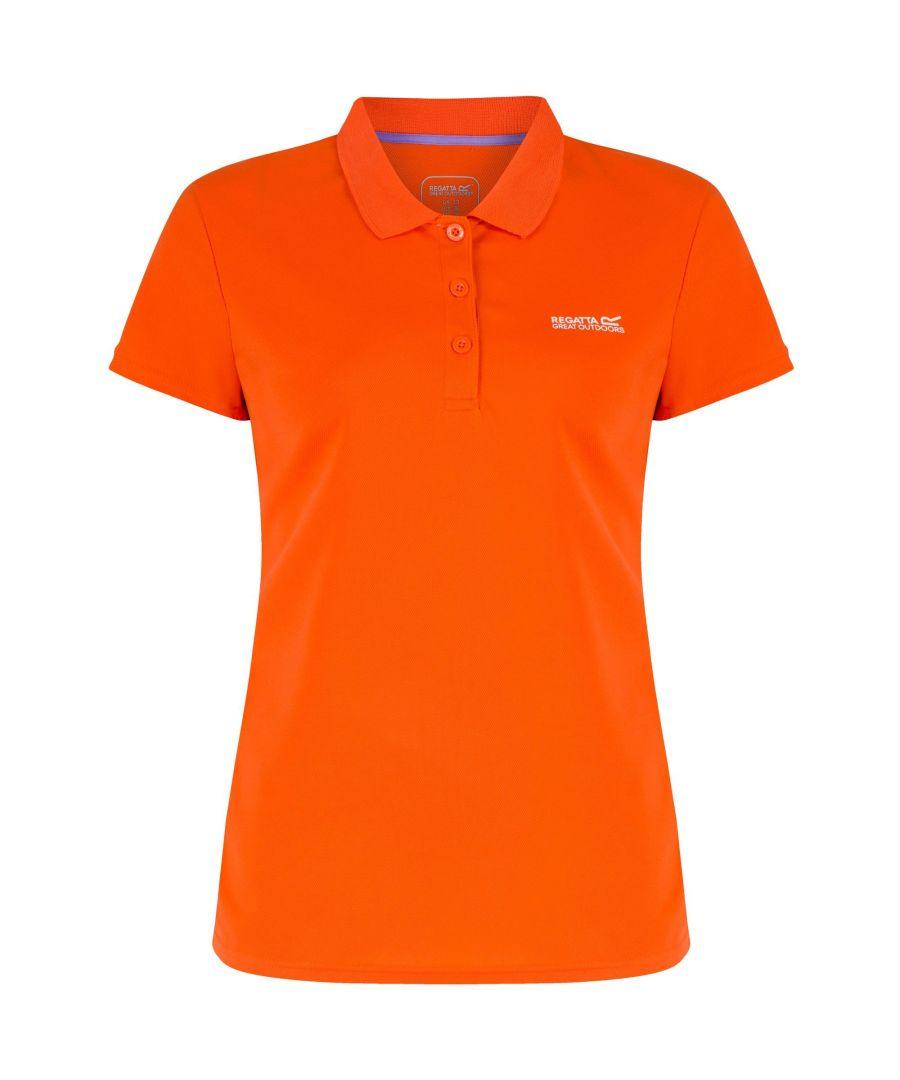 Image for Regatta Great Outdoors Womens/Ladies Maverik III Short Sleeve Polo Shirt