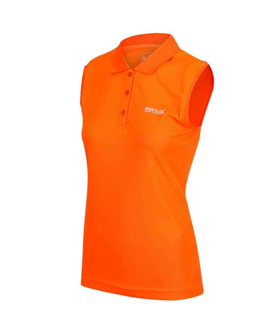 Image for Regatta Great Outdoors Womens/Ladies Tima Sleeveless Polo Vest