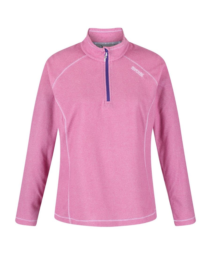 Image for Regatta Great Outdoors Womens/Ladies Montes Half Zip Fleece Top