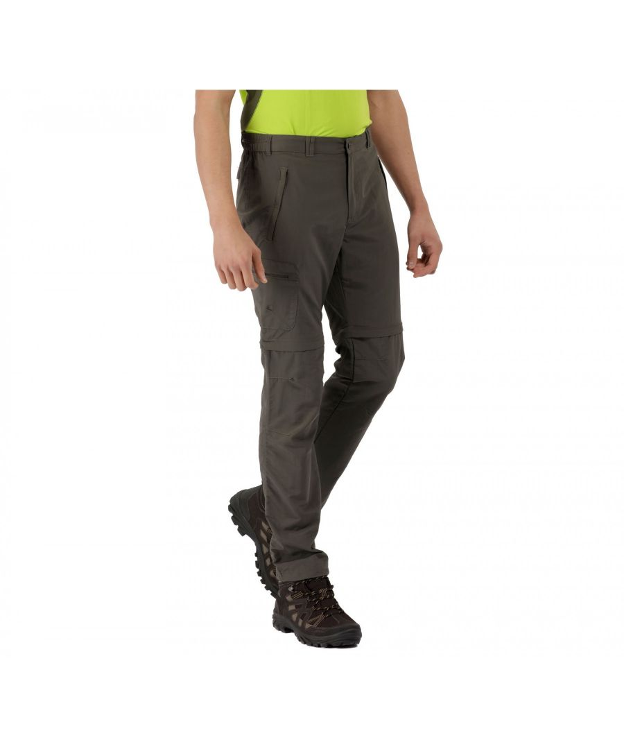 Image for Regatta Great Outdoors Mens Leesville Zip Off Trousers