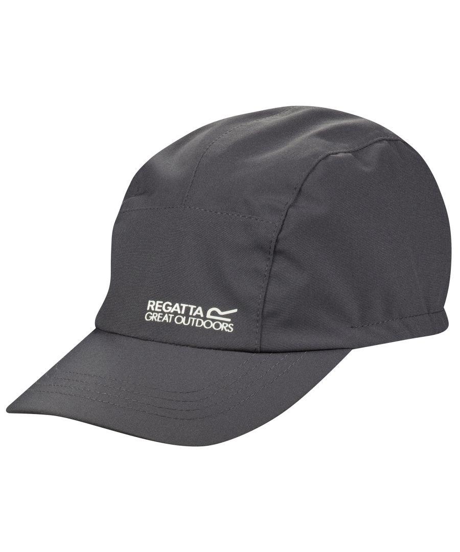 Image for Regatta Great Outdoors Unisex Waterproof III Baseball Cap (Seal Grey)