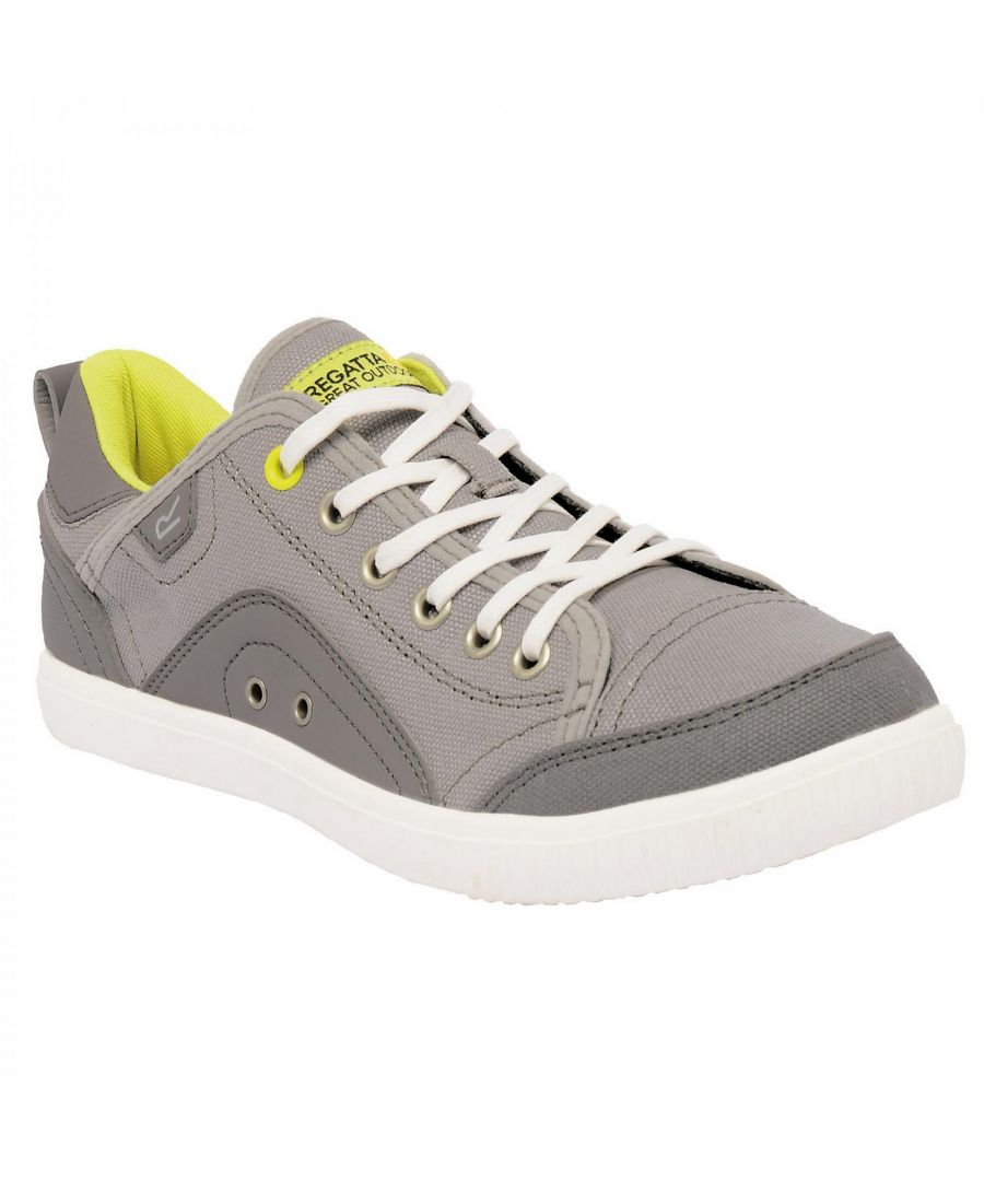 Image for Regatta Great Outdoors Womens/Ladies Lady Turnpike Canvas Plimsolls