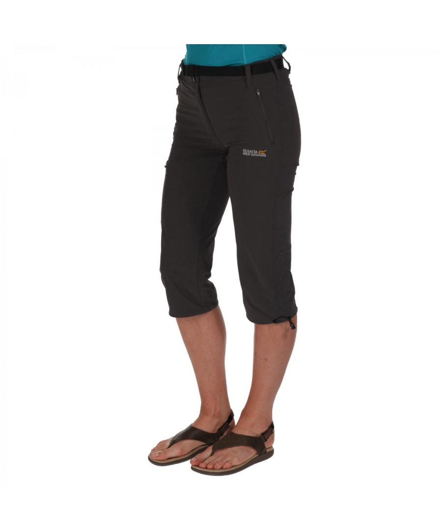 Image for Regatta Great Outdoors Womens/Ladies Xert Stretch II Capri Shorts