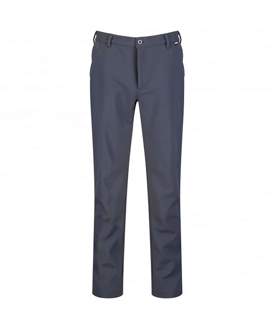Image for Regatta Great Outdoors Mens Fenton Lightweight Softshell Trousers