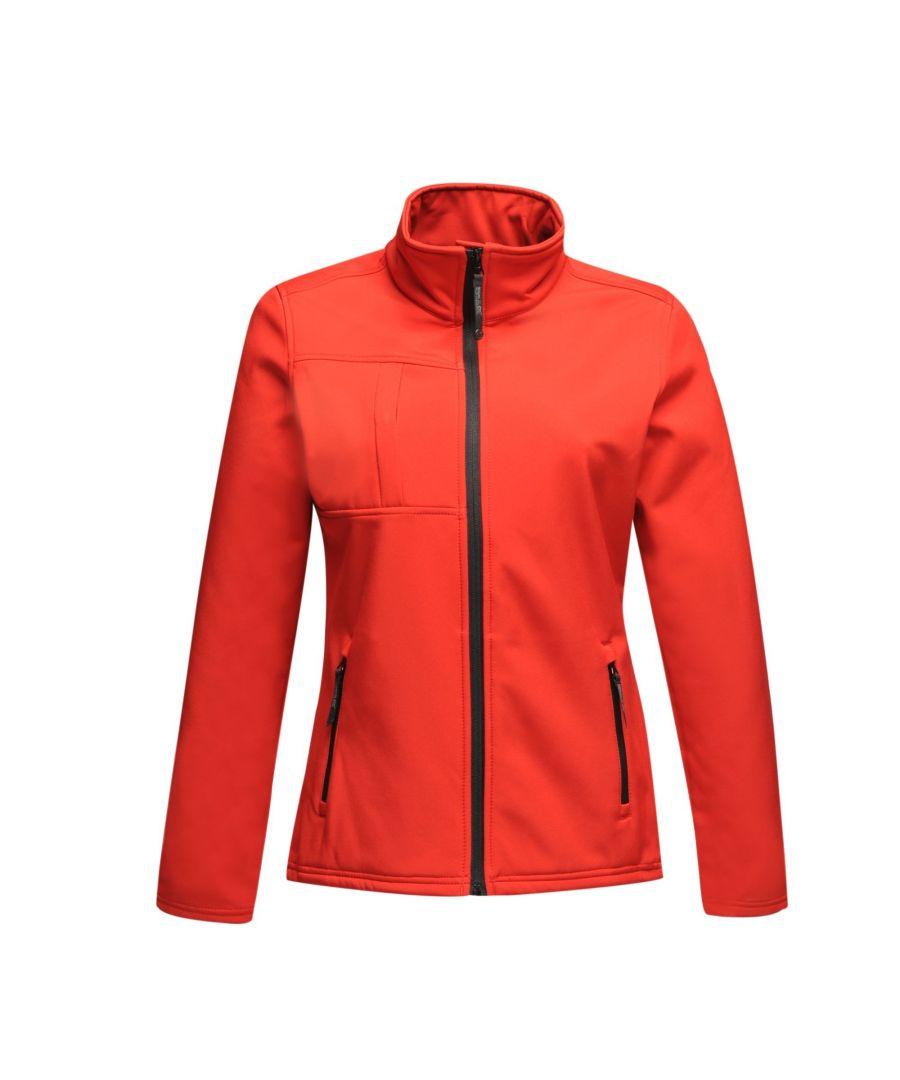 Image for Regatta Professional Womens/Ladies Octagon II Waterproof Softshell Jacket