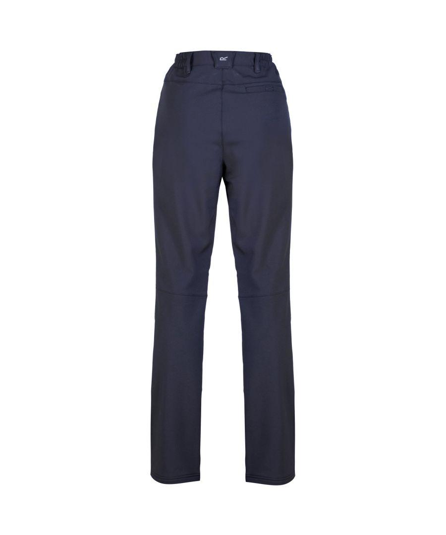 Image for Regatta Great Outdoors Womens/Ladies Fenton Softshell Walking Trousers