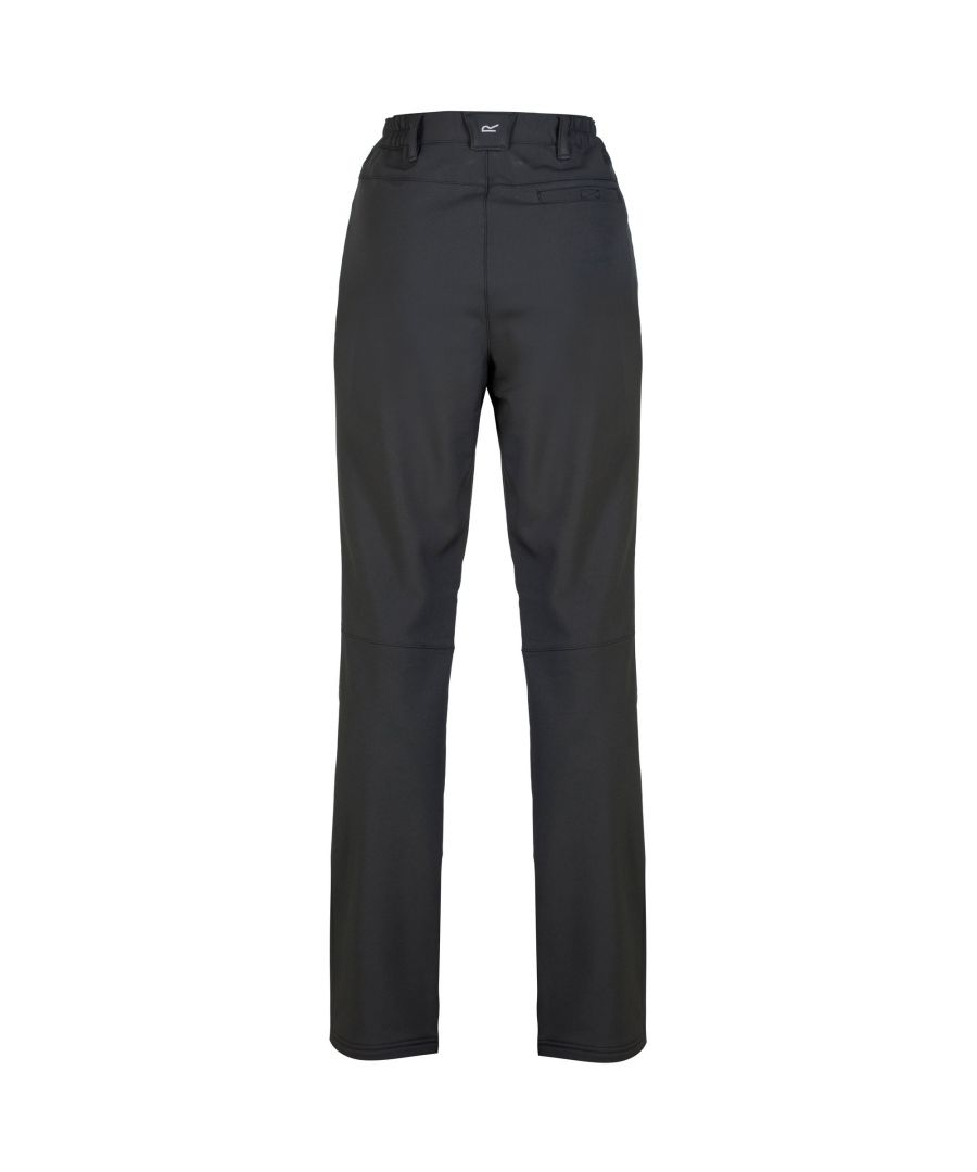 Image for Regatta Great Outdoors Womens/Ladies Fenton Softshell Walking Trousers