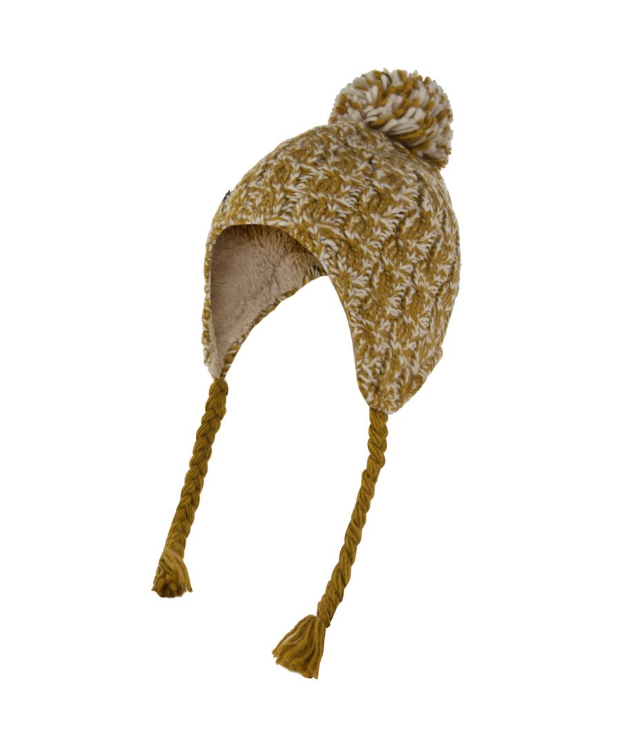 Image for Regatta Great Outdoors Womens/Ladies Whirlwind Knitted Peru Hat