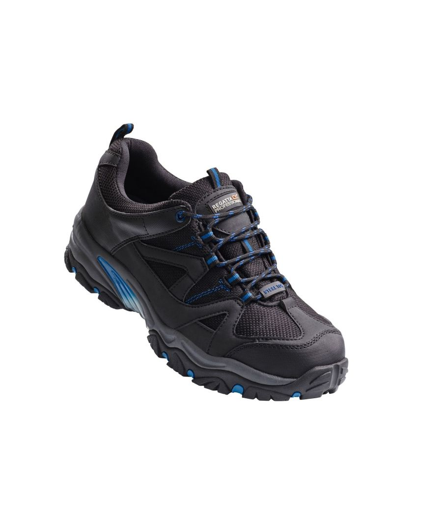 Image for Regatta Hardwear Mens Riverbeck Wide Fitting Safety Trainers