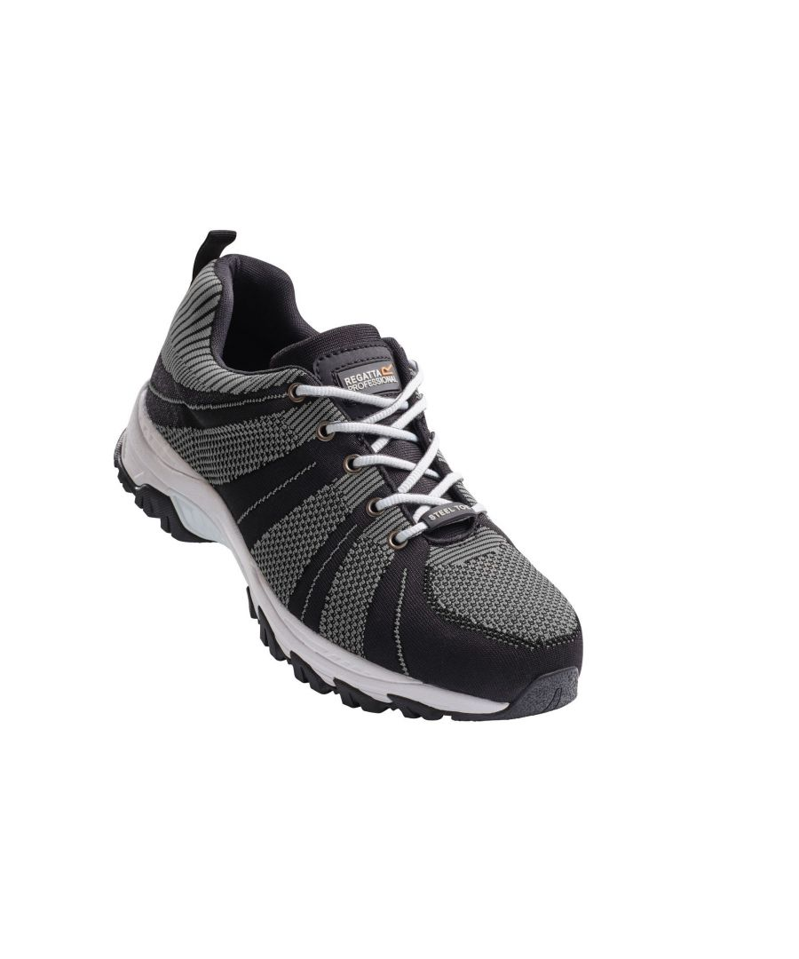 Image for Regatta Hardwear Mens Rapide Knit Wide Fitting Safety Trainers