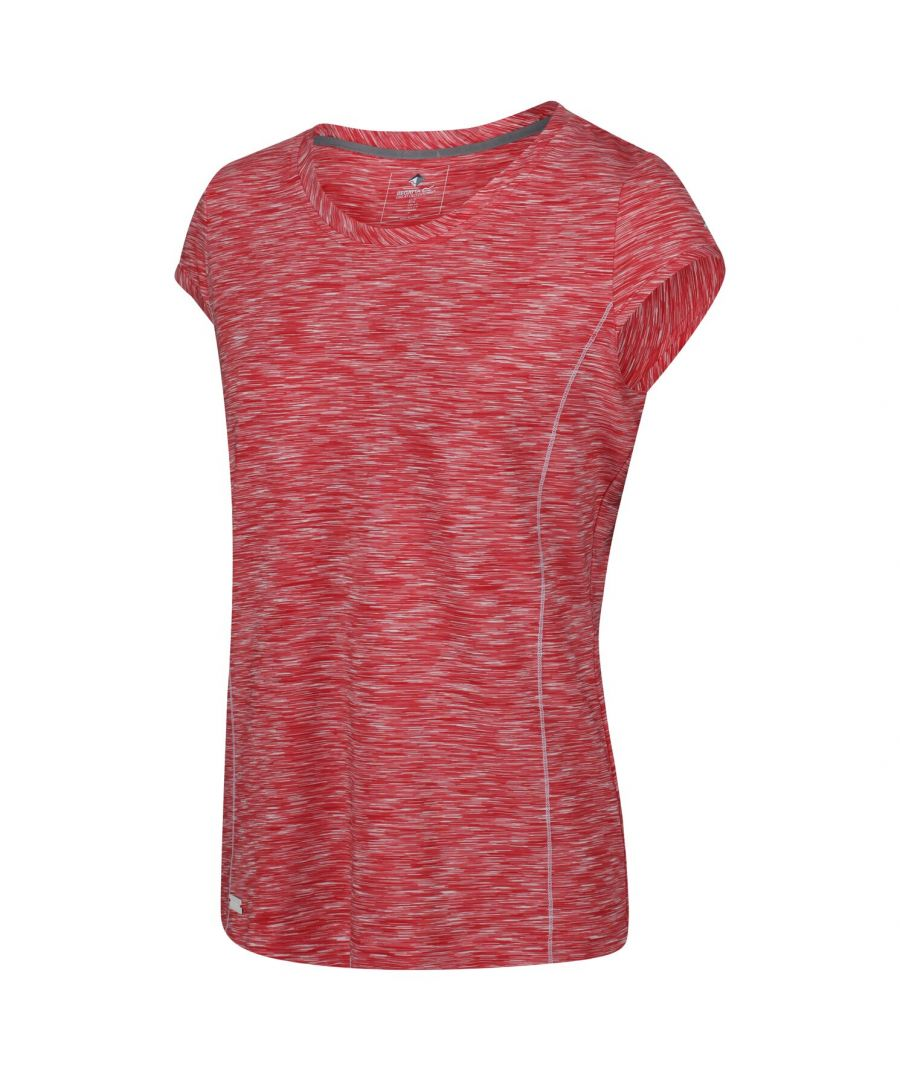 Image for Regatta Great Outdoors Womens/Ladies Hyperdimension Short Sleeve T-Shirt