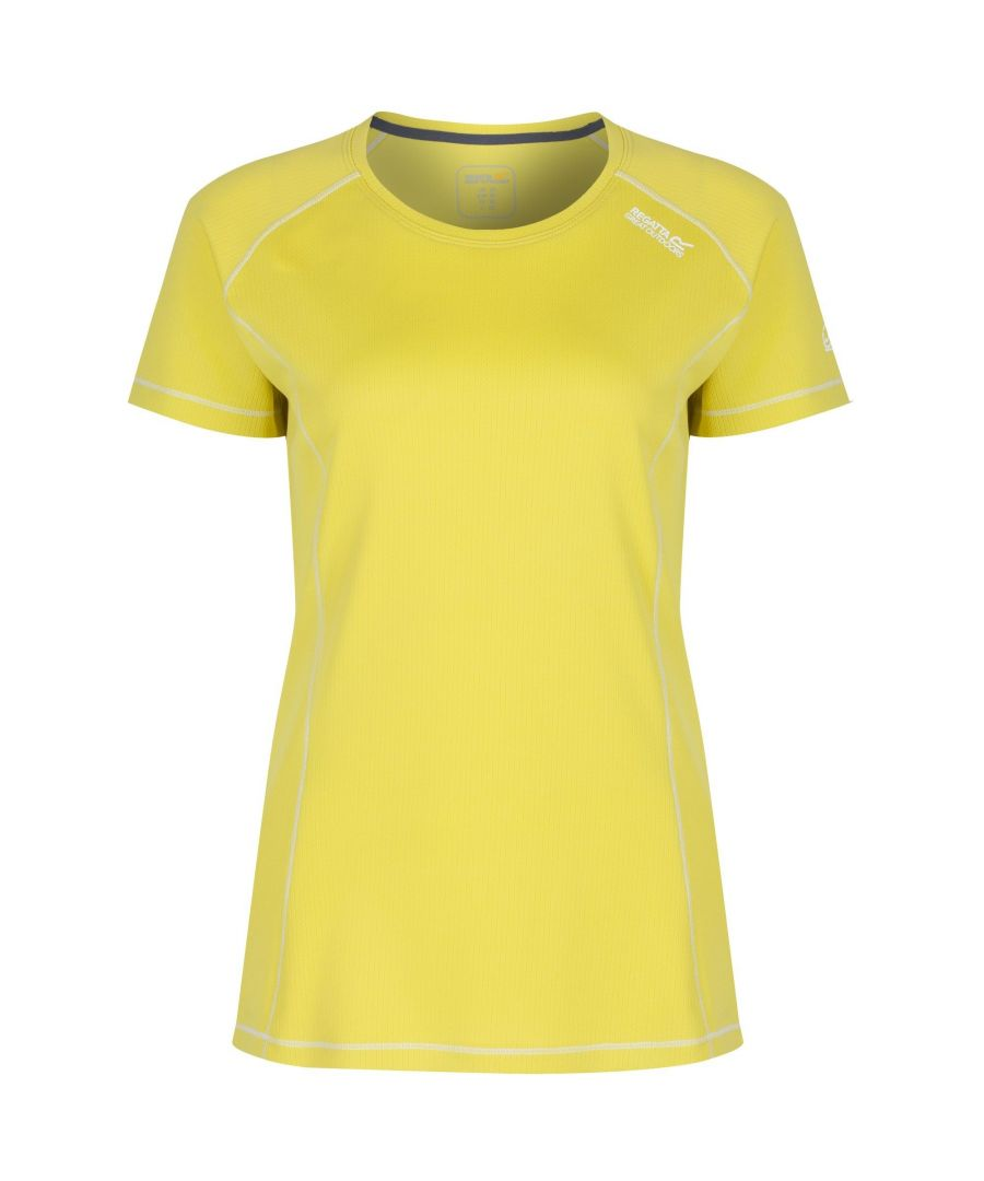 Image for Regatta Great Outdoors Womens/Ladies Virda Short Sleeve Base Layer T-Shirt