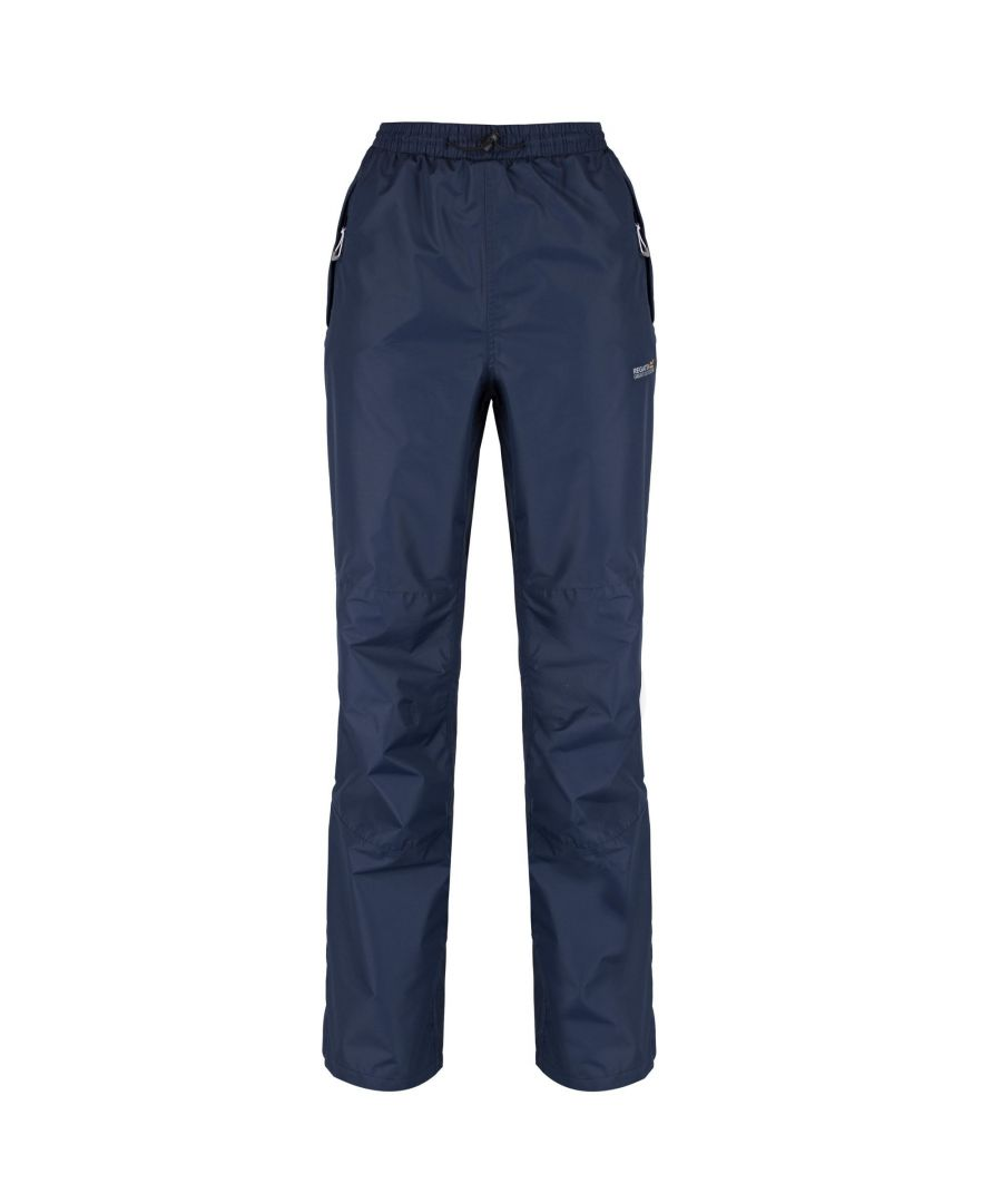 Image for Regatta Great Outdoors Womens/Ladies Amelie III Waterproof Overtrousers (Regular Leg)