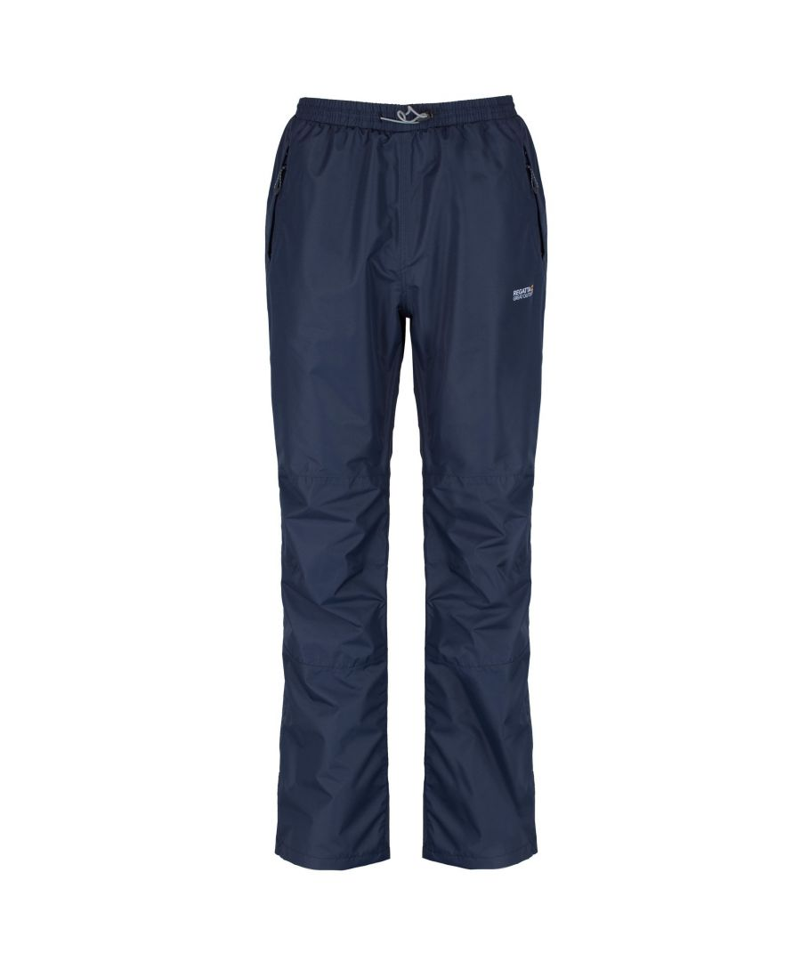 Image for Regatta Great Outdoors Mens Chandler III Showerproof Overtrousers (Short Leg)