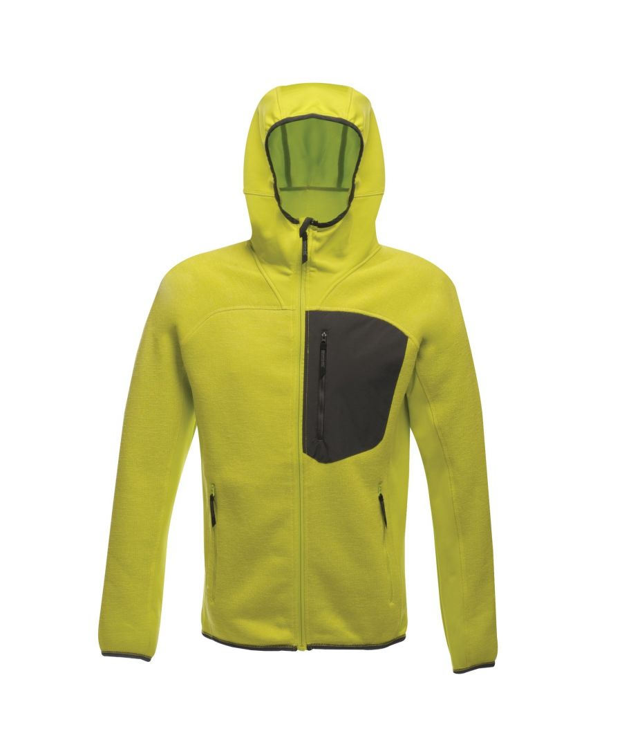 Image for Regatta X-Pro Mens Coldspring Hybrid Hooded Fleece Jacket