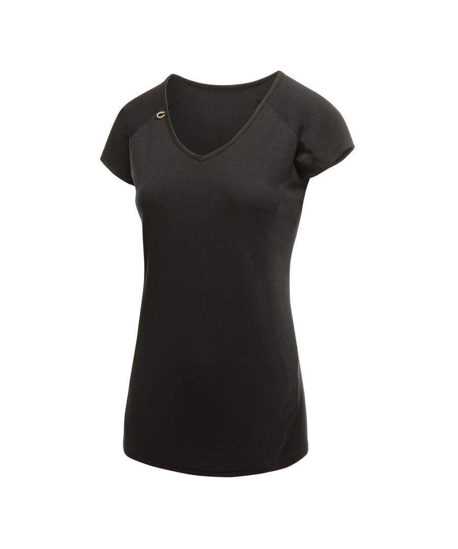 Image for Regatta Activewear Womens Beijing Short Sleeve T-Shirt