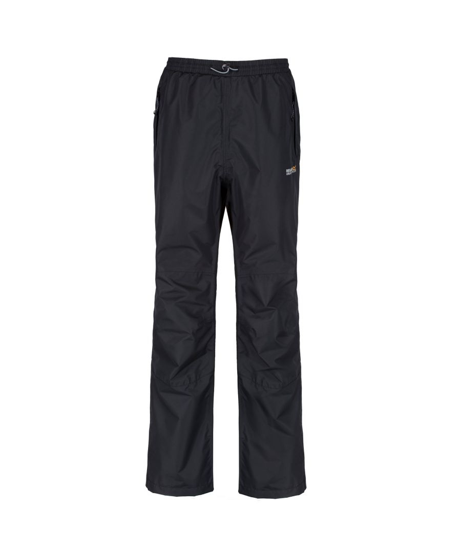 Image for Regatta Great Outdoors Mens Chandler III Showerproof Overtrousers (Long Leg)