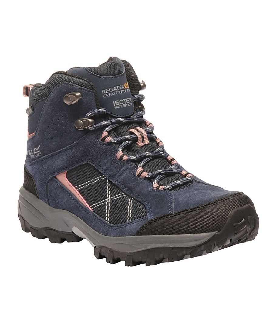 Image for Regatta Great Outdoors Womens/Ladies Lady Clydebank Waterproof Hiking Boots