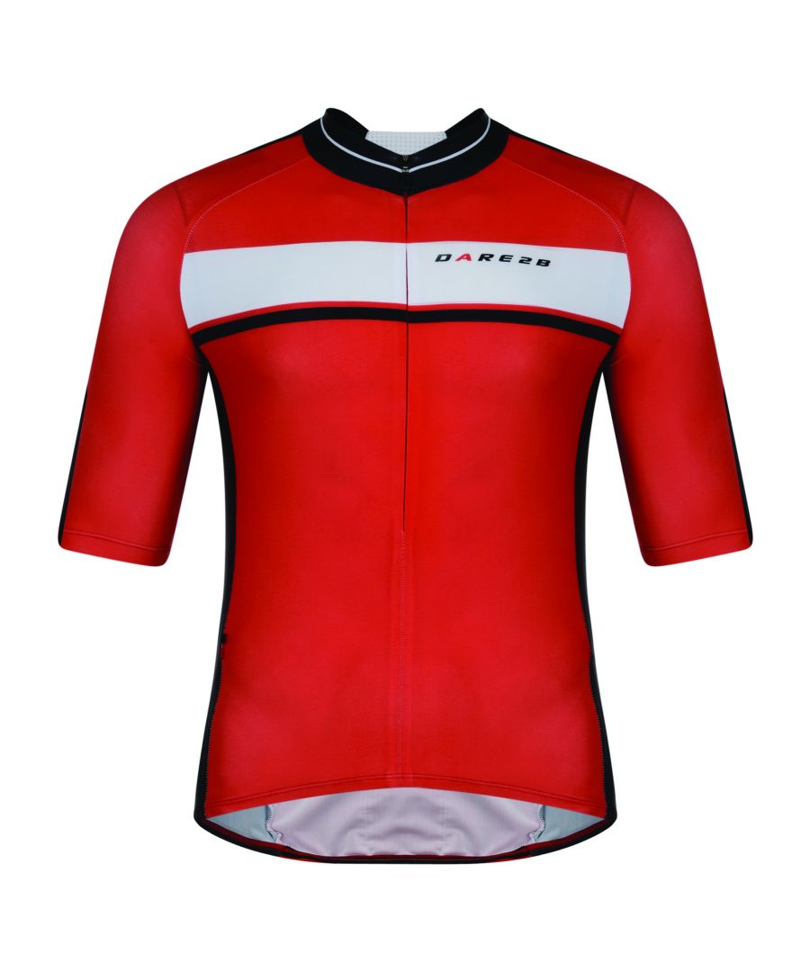 Image for Dare 2B Mens Oscar Pereiro AEP Hammer Down Short Sleeve Cycle Jersey