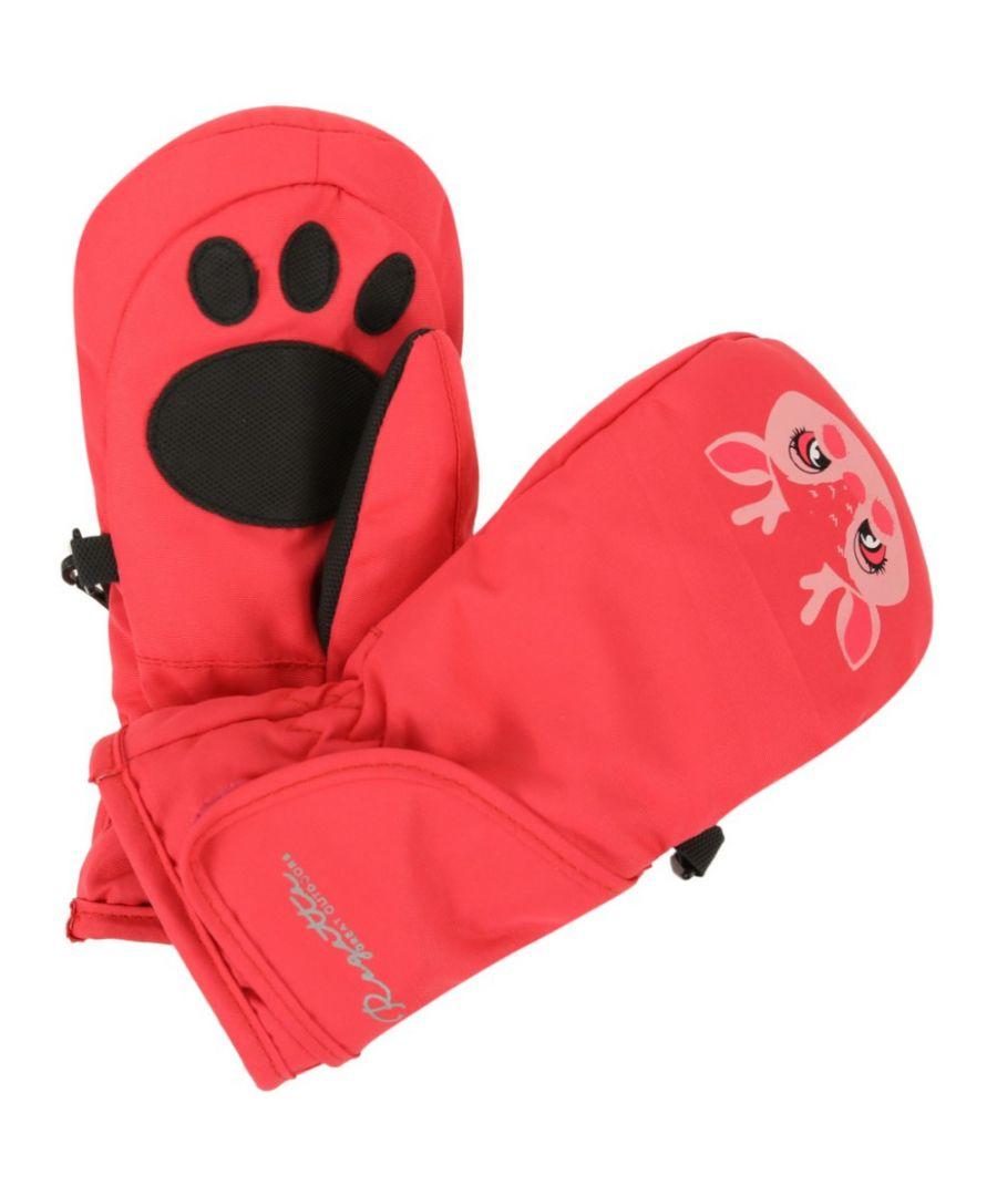 Image for Regatta Great Outdoors Childrens/Kids Spatter Mitt III Reflective Gloves