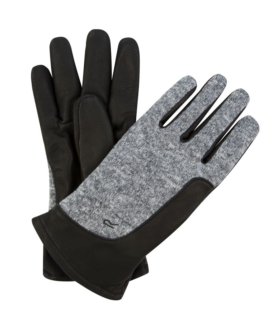 Image for Regatta Mens Gerson Leather Gloves