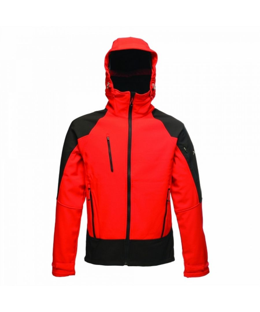 Image for Regatta Mens Powergrid 3 Layer Jacket