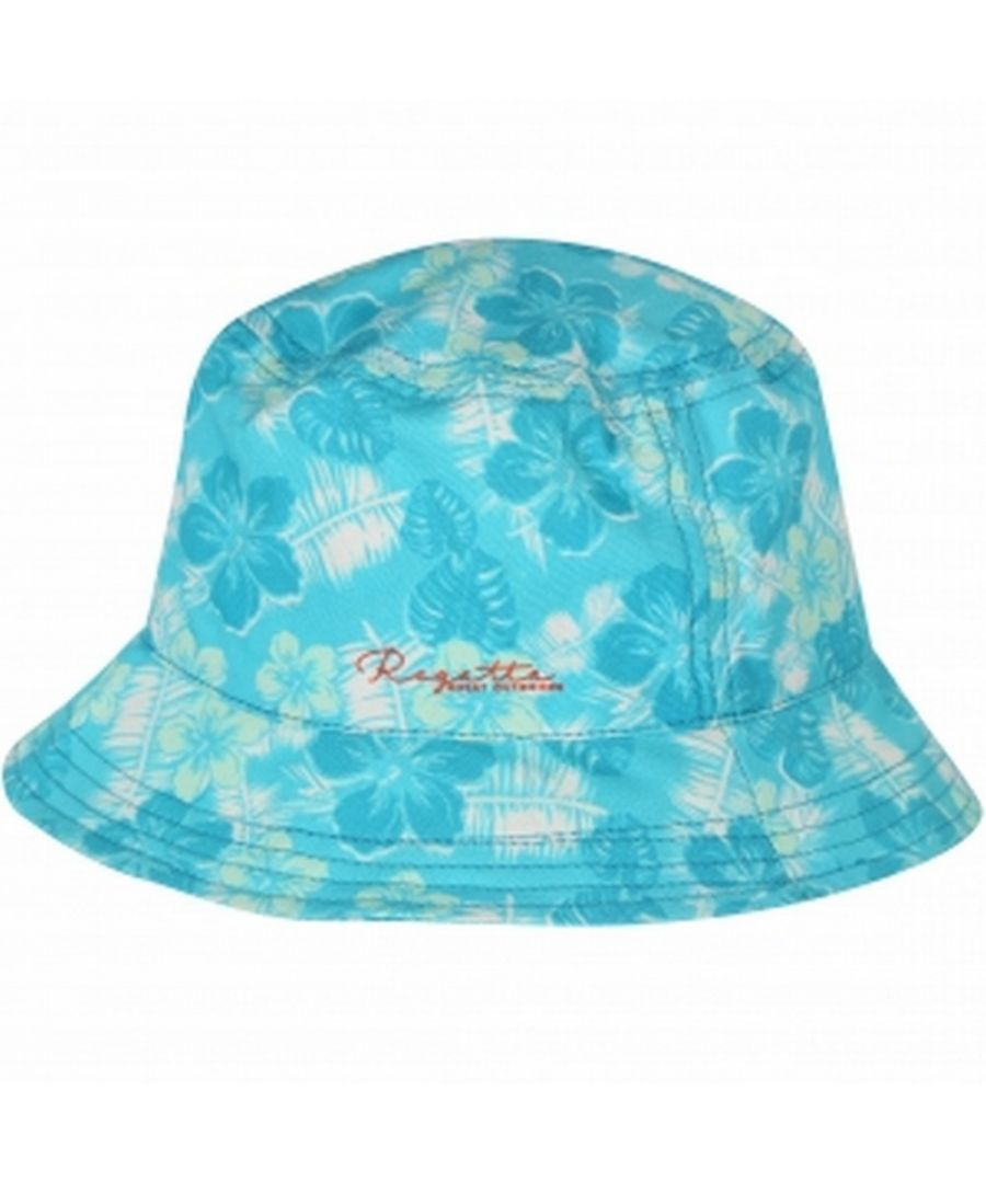 Image for Regatta Great Outdoors Childrens/Kids Crow Canvas Bucket Hat