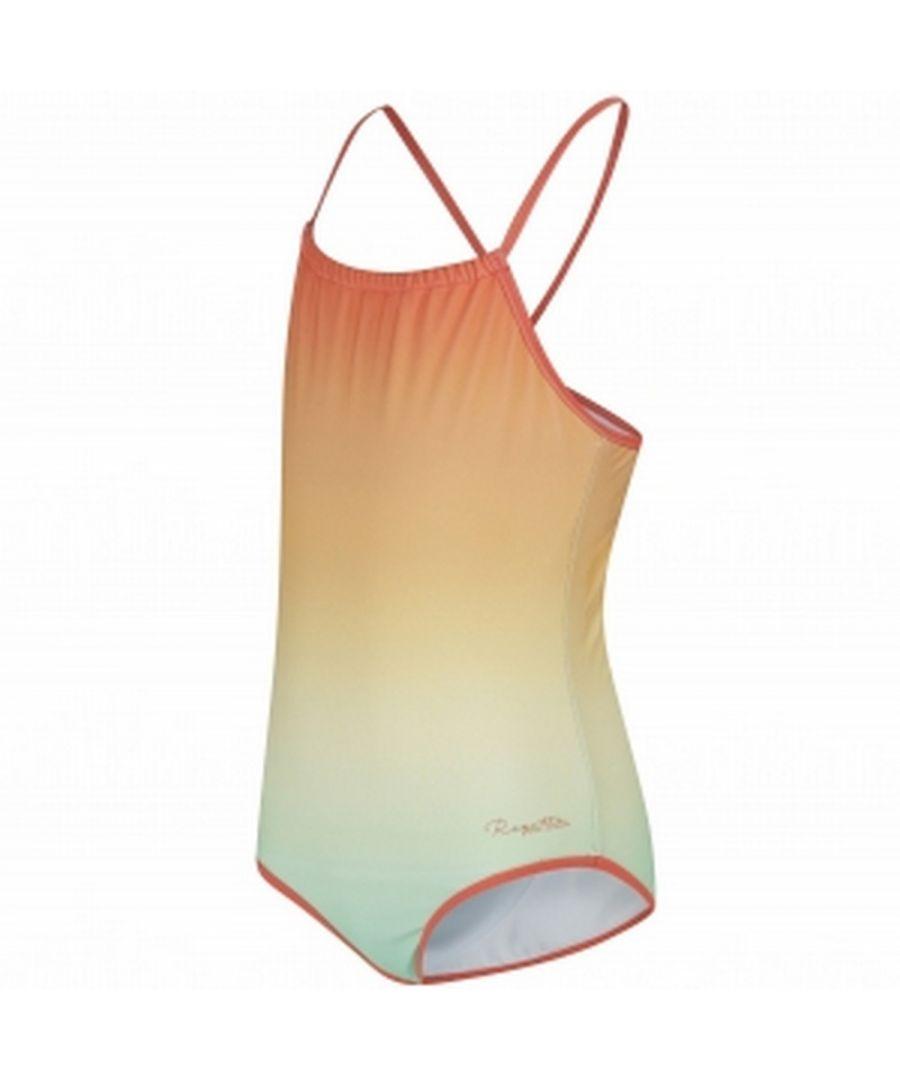 Image for Regatta Great Outdoors Childrens Girls Takisha Swimming Costume