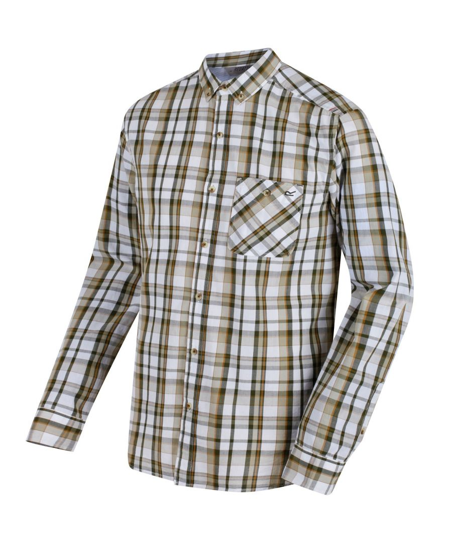 Image for Regatta Great Outdoors Mens Bacchus Long Sleeve Shirt