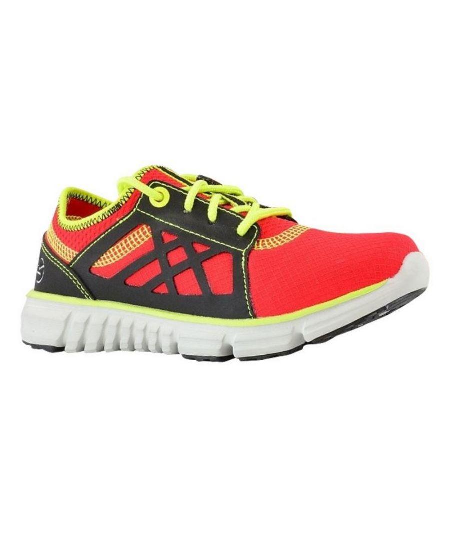 Image for Regatta Childrens/Kids Marine Sport Walking Shoes (Pepper/Lime Zest)