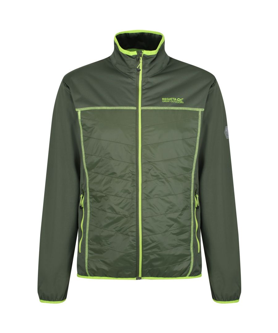 Image for Regatta Mens Walson Hybrid Lightweight Softshell Jacket