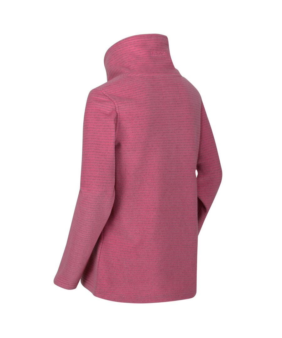 Image for Regatta Womens/Ladies Solenne Fleece (Light Vanilla/Silver)