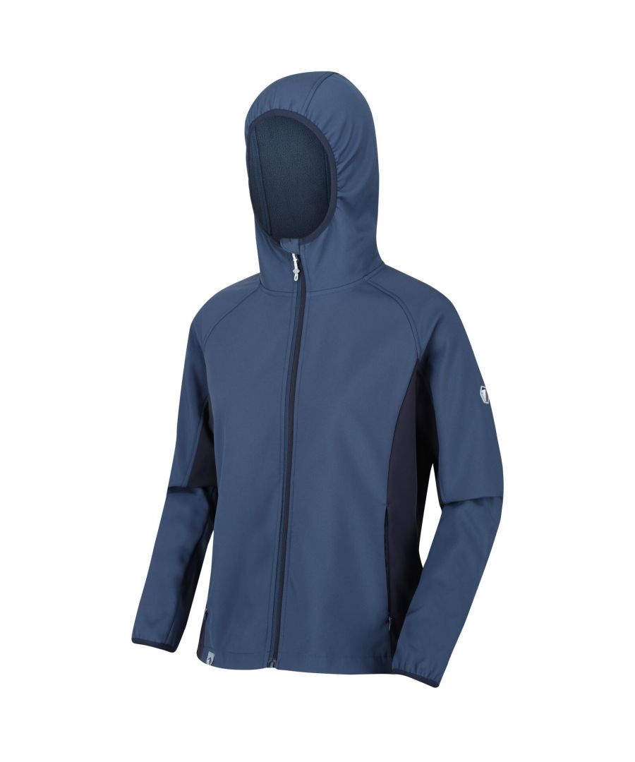 Image for Regatta Womens/Ladies Arec II Softshell Jacket (Dark Denim/Navy)