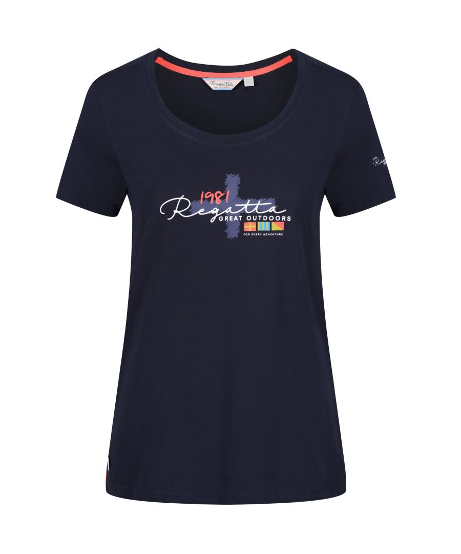 Image for Regatta Womens/Ladies Filandra II Coolweave Cotton T-Shirt