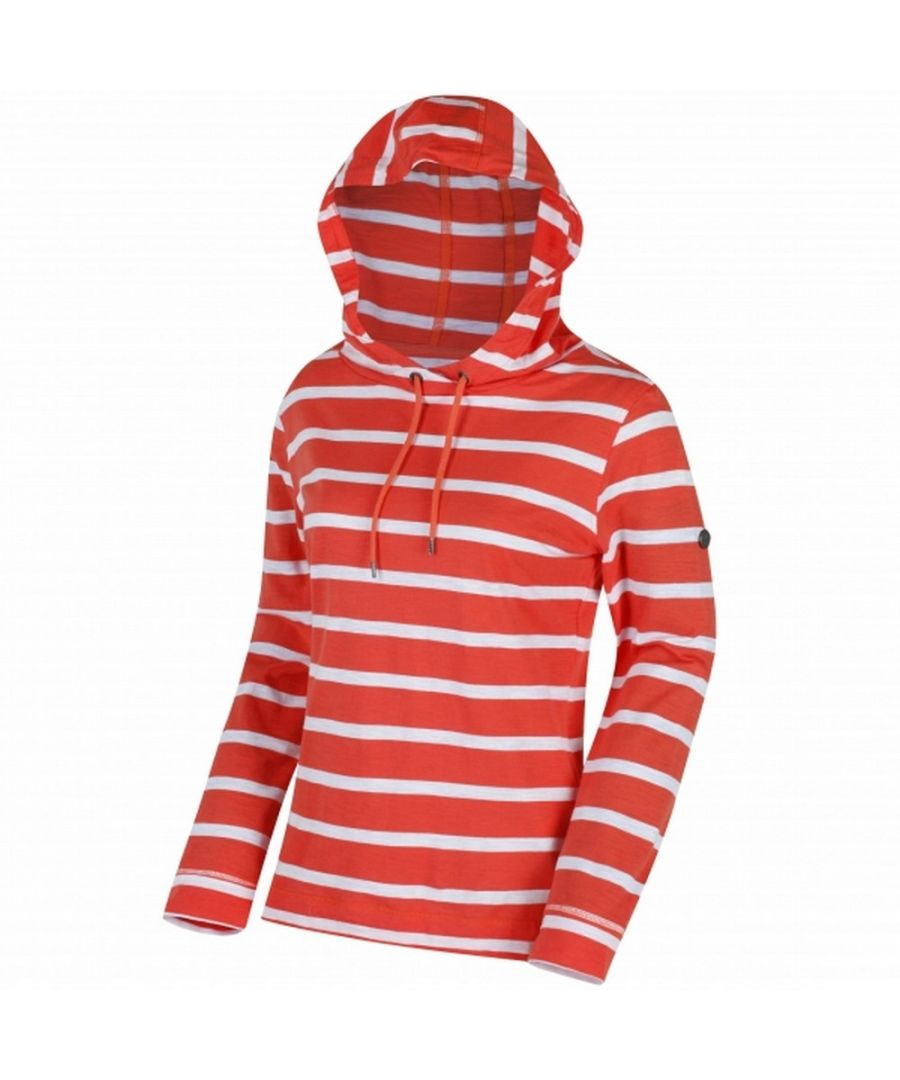 Image for Regatta Womens/Ladies Modesta Hooded Coolweave Cotton Top