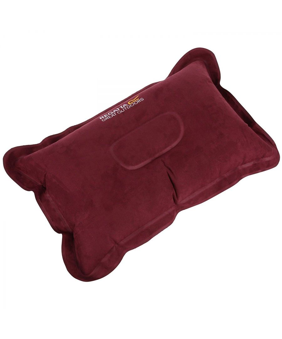Image for Regatta Soft Touch Inflatable Pillow With Storage Bag