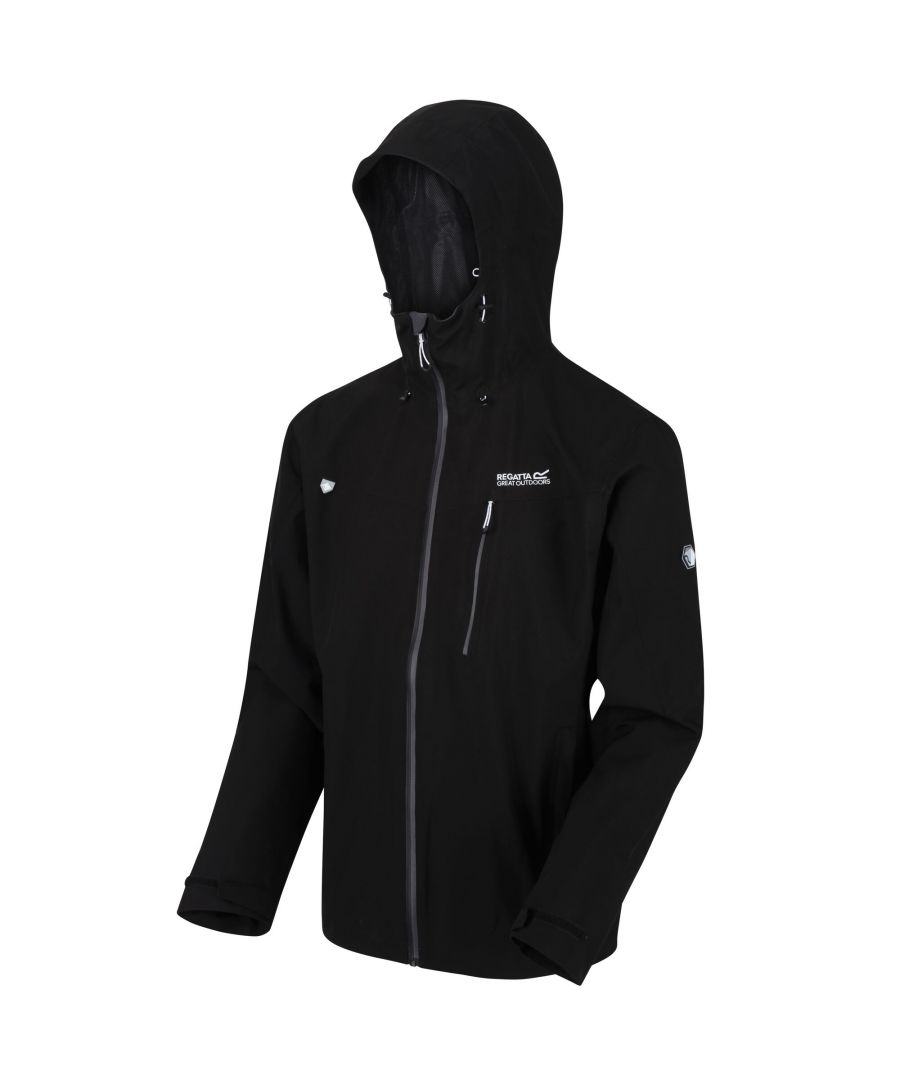 Image for Regatta Mens Birchdale Waterproof Hooded Jacket