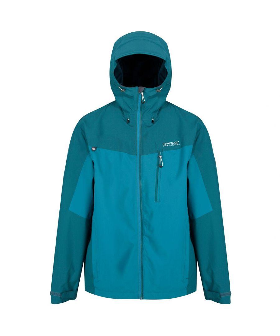 Image for Regatta Mens Birchdale Waterproof Hooded Jacket