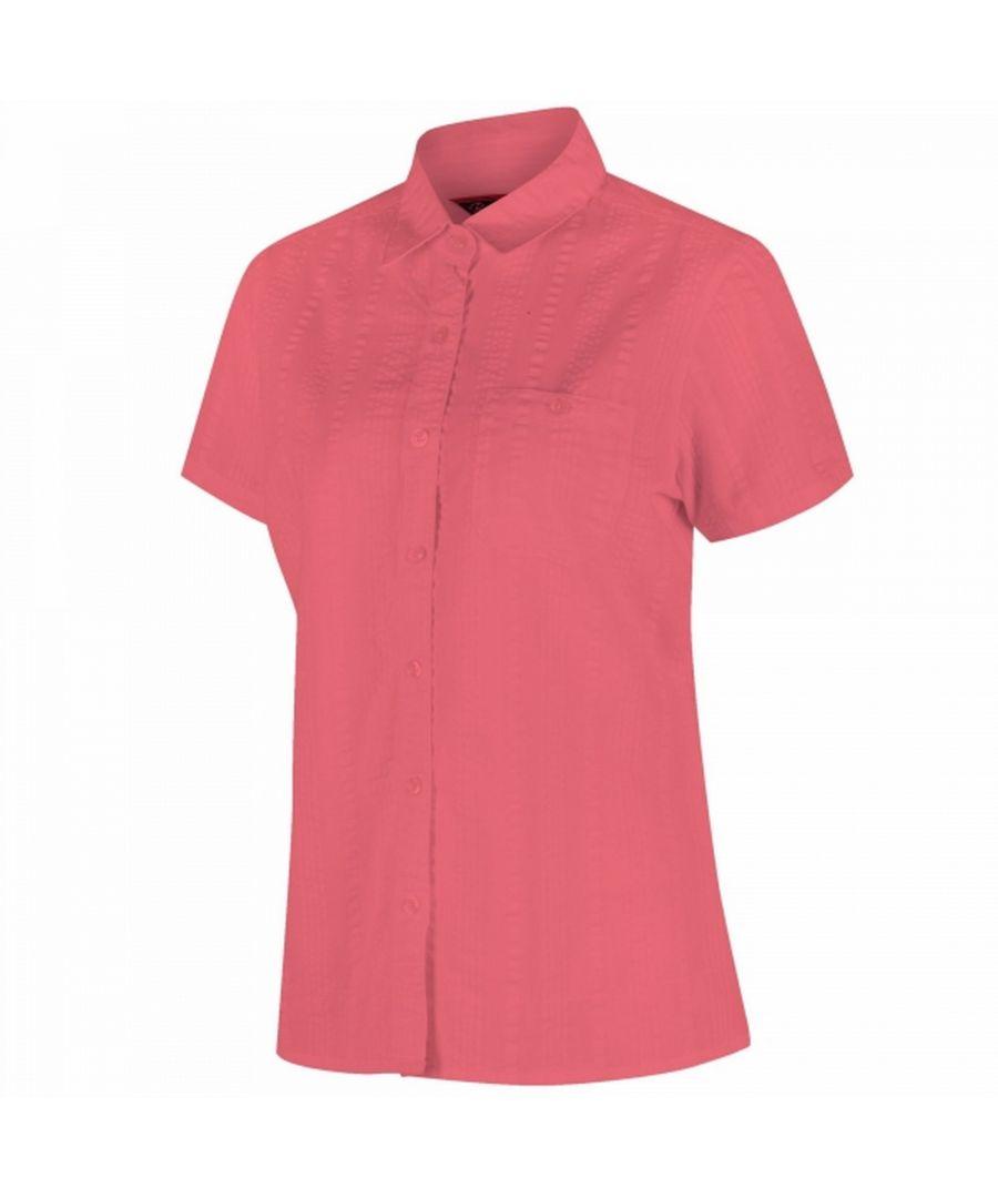 Image for Regatta Womens/Ladies Jerbra II Short Sleeve Shirt