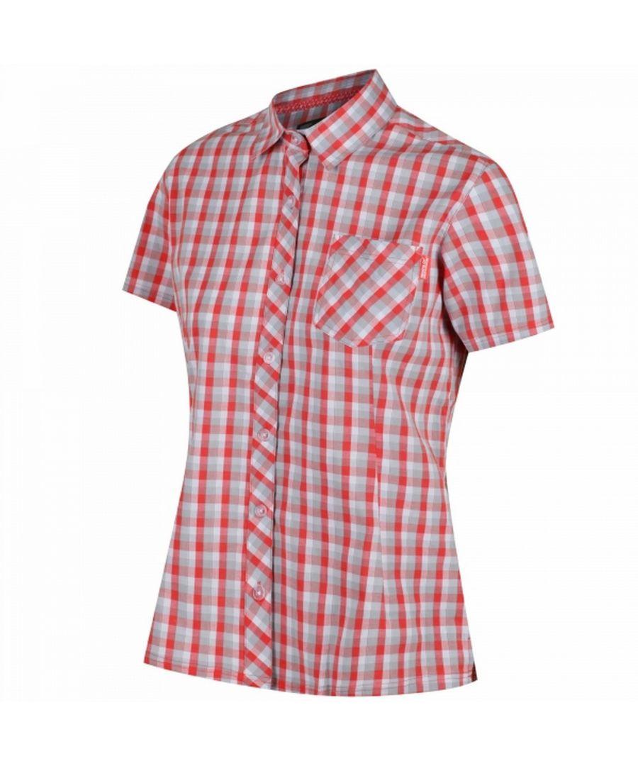 Image for Regatta Womens/Ladies Honshu II Short Sleeve Shirt