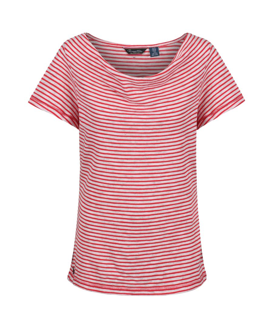 Image for Regatta Womens/Ladies Francheska Short Sleeve T-Shirt
