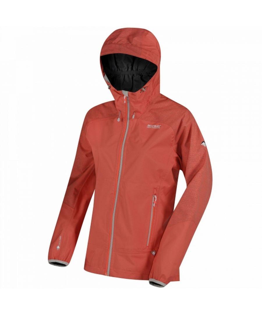 Image for Regatta Womens/Ladies Montegra Waterproof Hooded Jacket