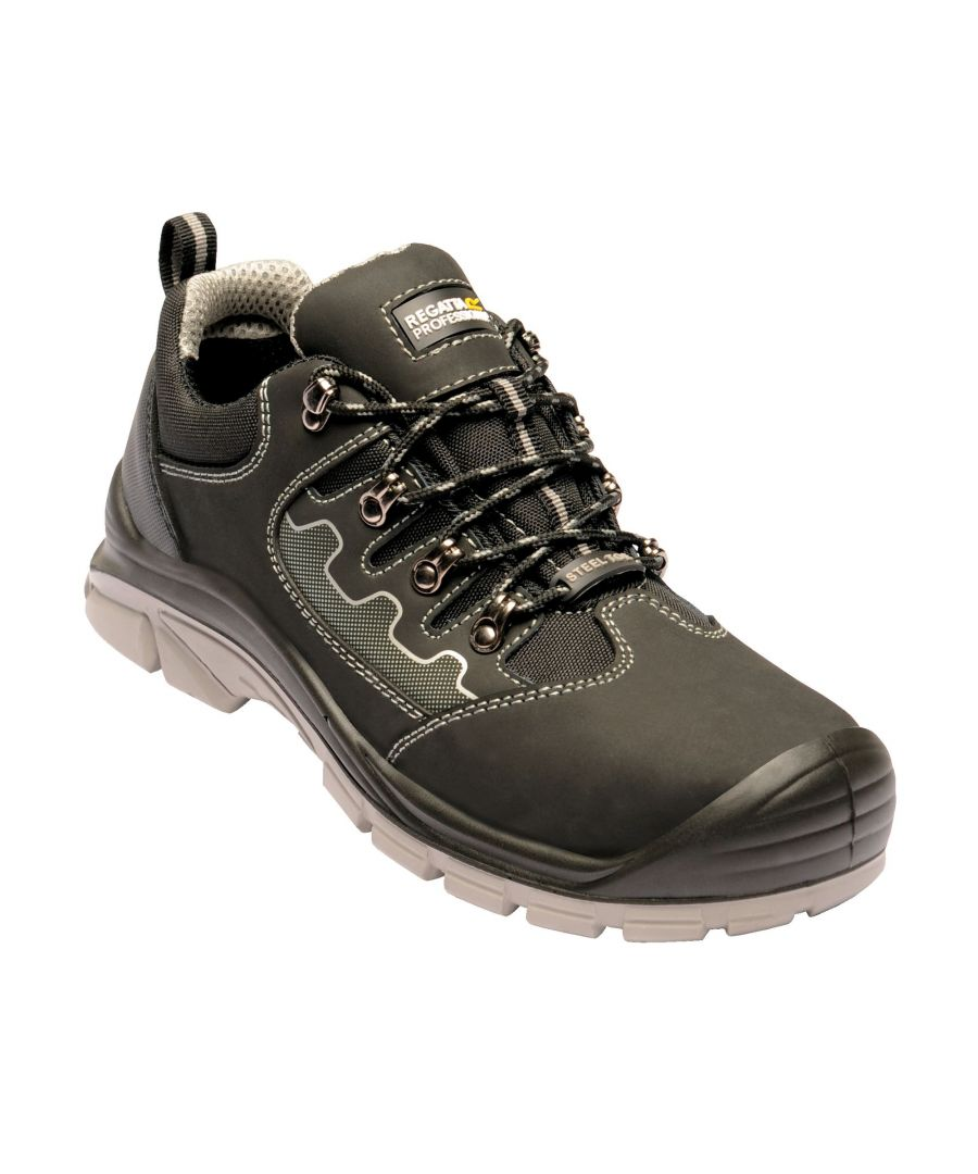 Image for Regatta Unisex Region Safety Trainer Steel Toe Capped Boots