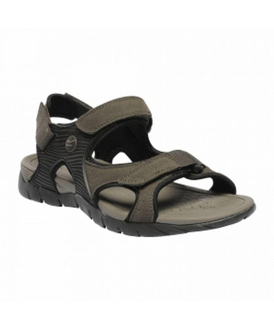 Image for Regatta Mens Rafta Classic Suede Walking Sandals